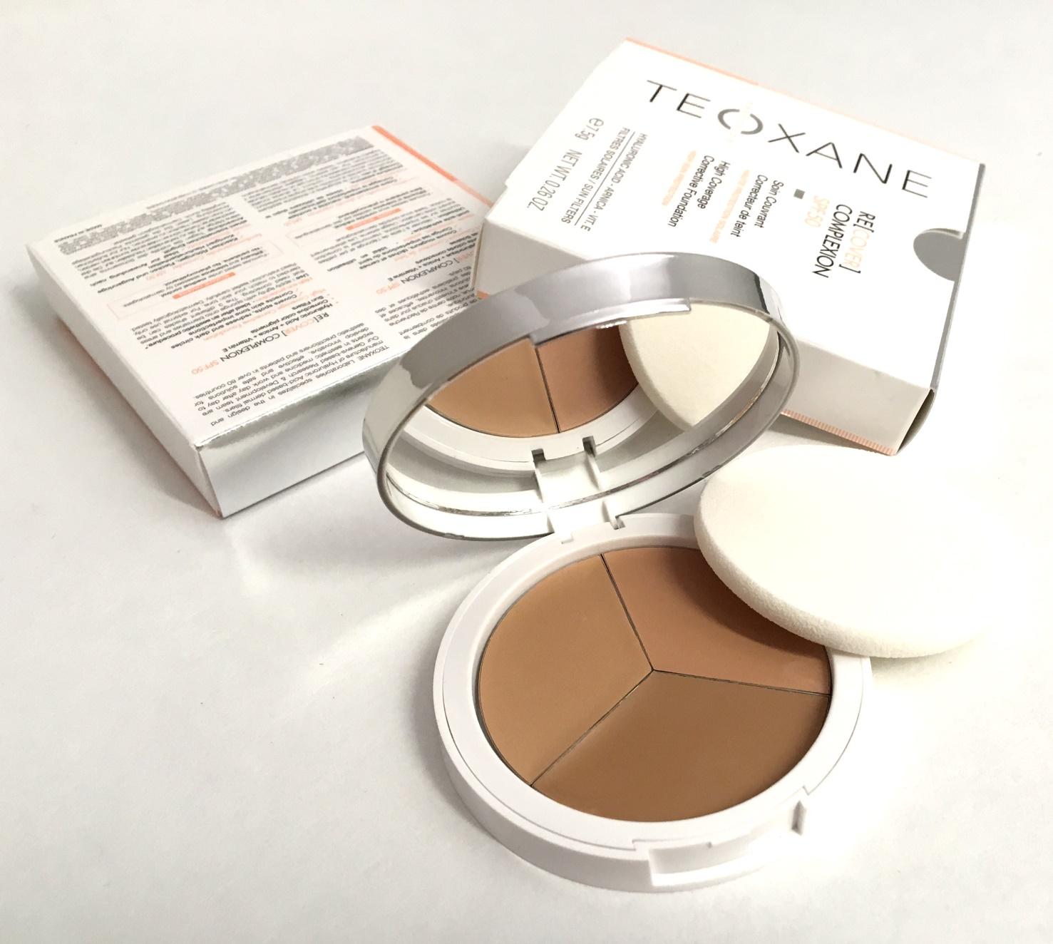 Teoxane Puder Make up in 3 Farben mit Lichtschutzfaktor 50