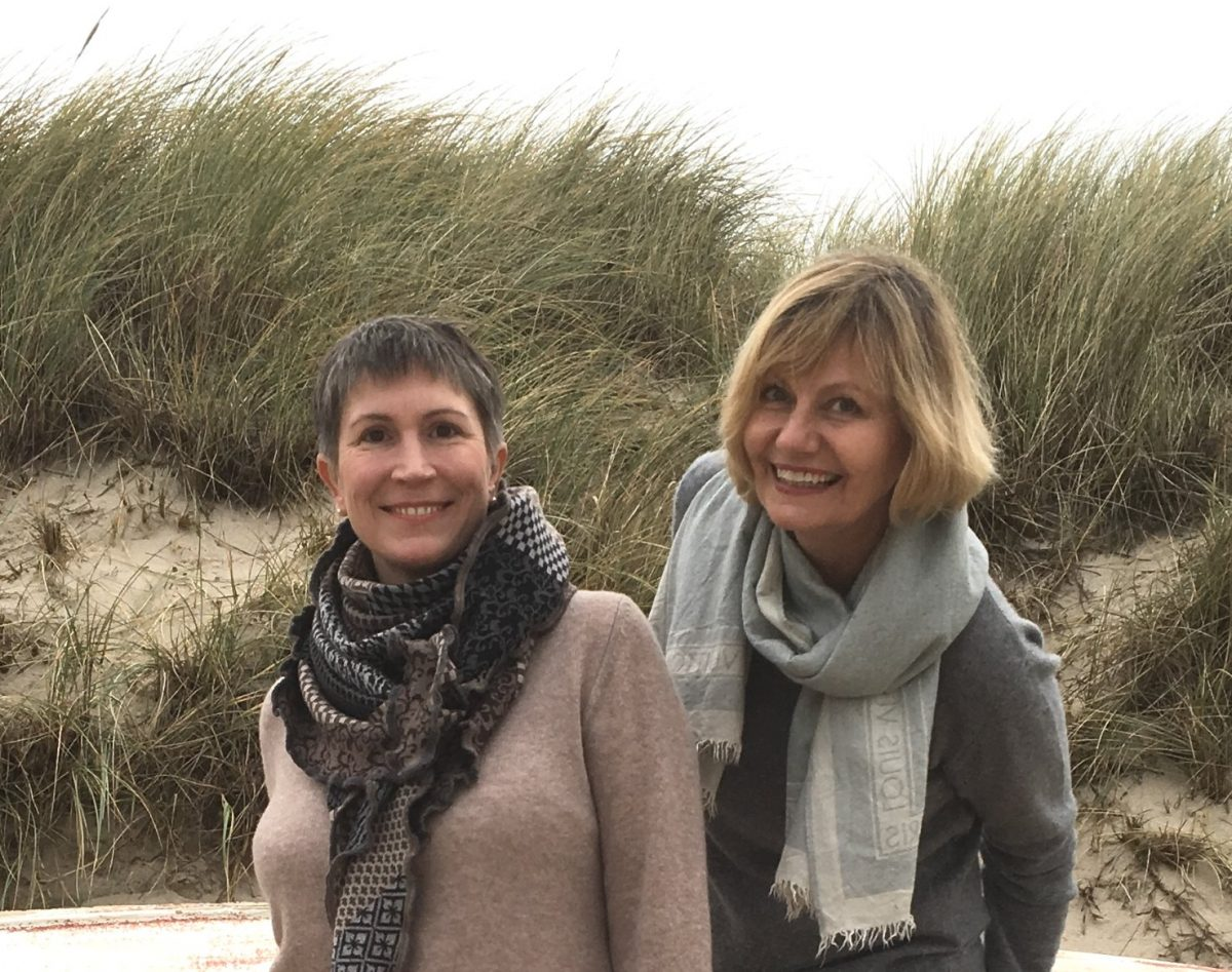 Strand Dühne Sylt Bloggerfreundinnen in Kaschmir