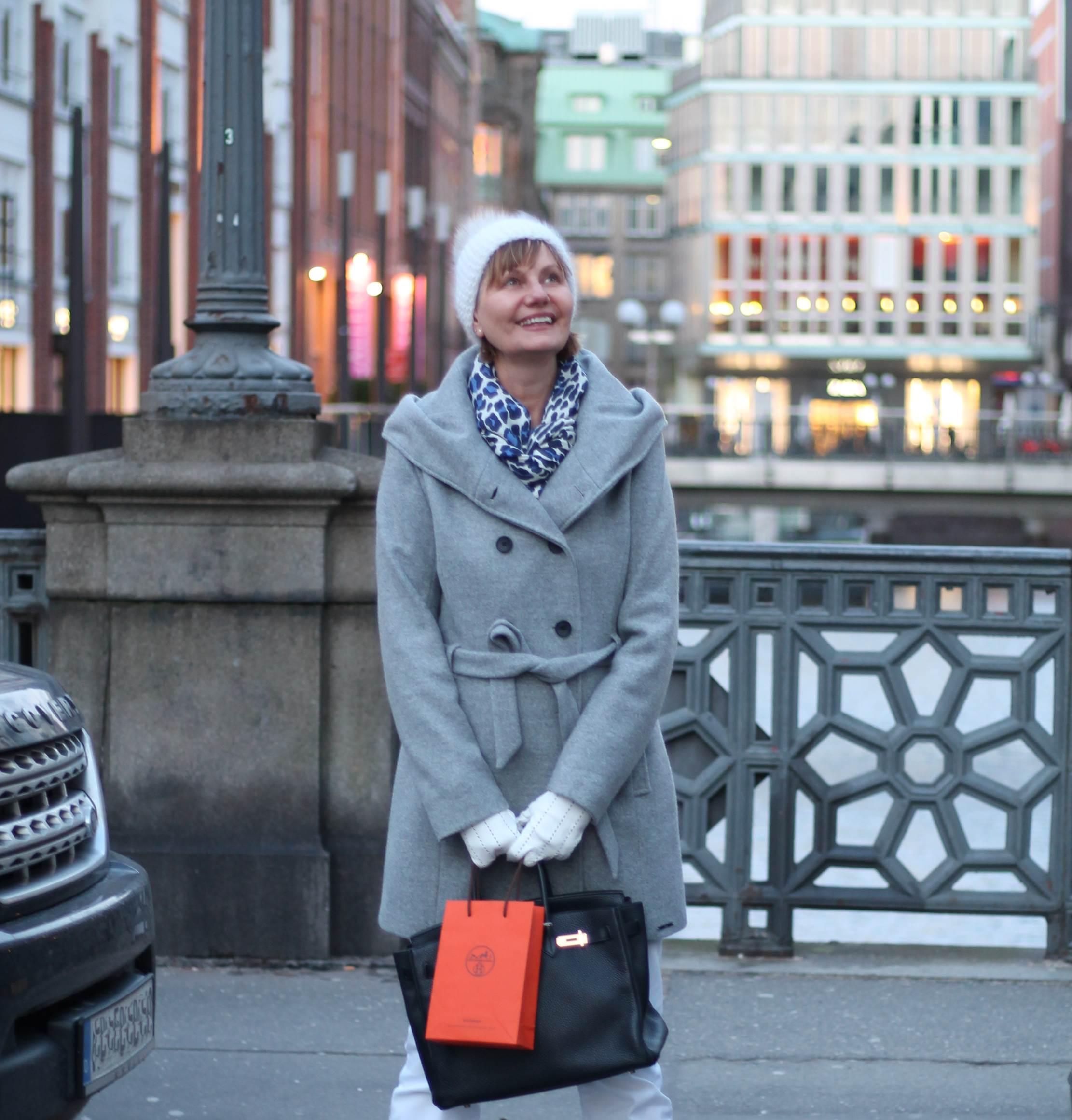 Hamburg, Bleichendste, Fashionblhgger über 50