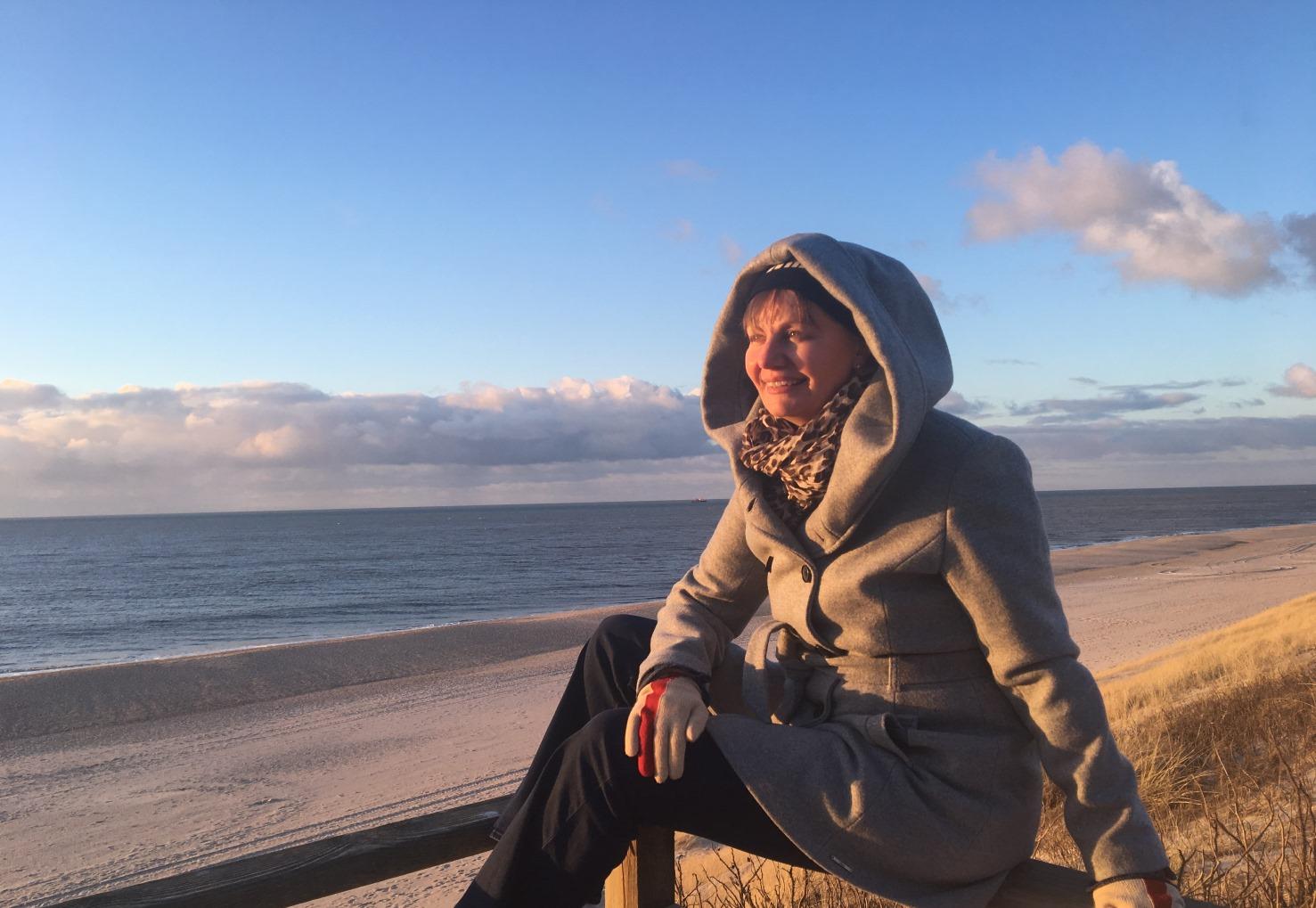 Blickwinkel sylt strand nordsee