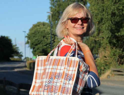 Sommerlook mit Paperbag Rock