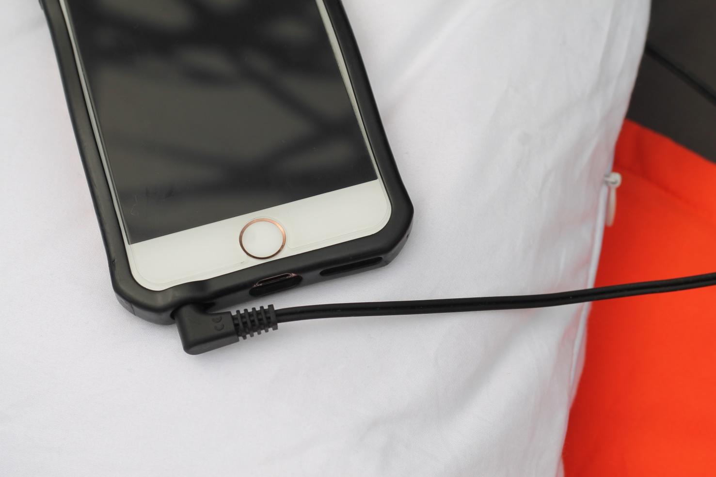 dreampad kabelverbindung zum smartphone