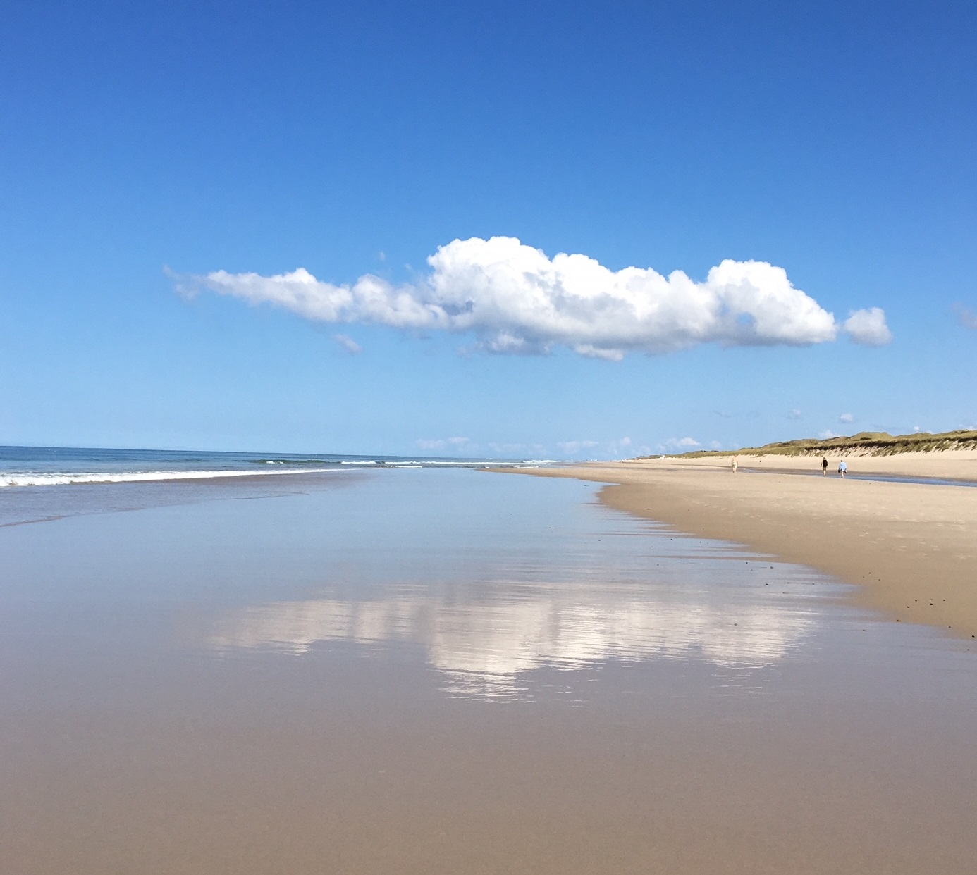 insel sylt sansibar strand sommer sand meer und eine wolke