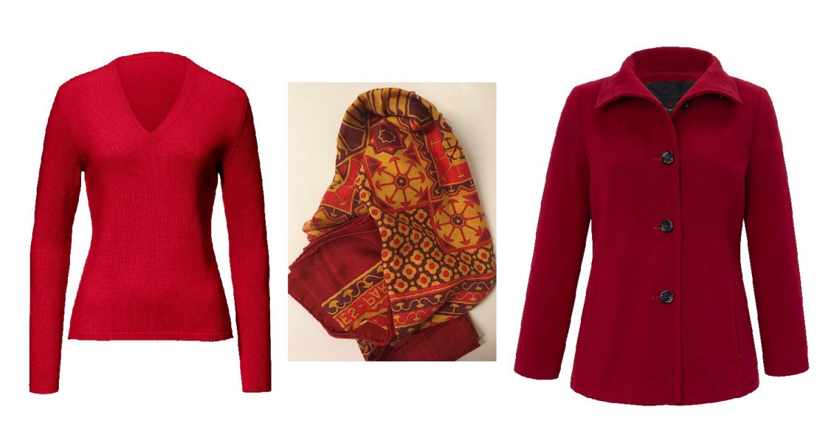 herbstoutfit pullover tuch mantel