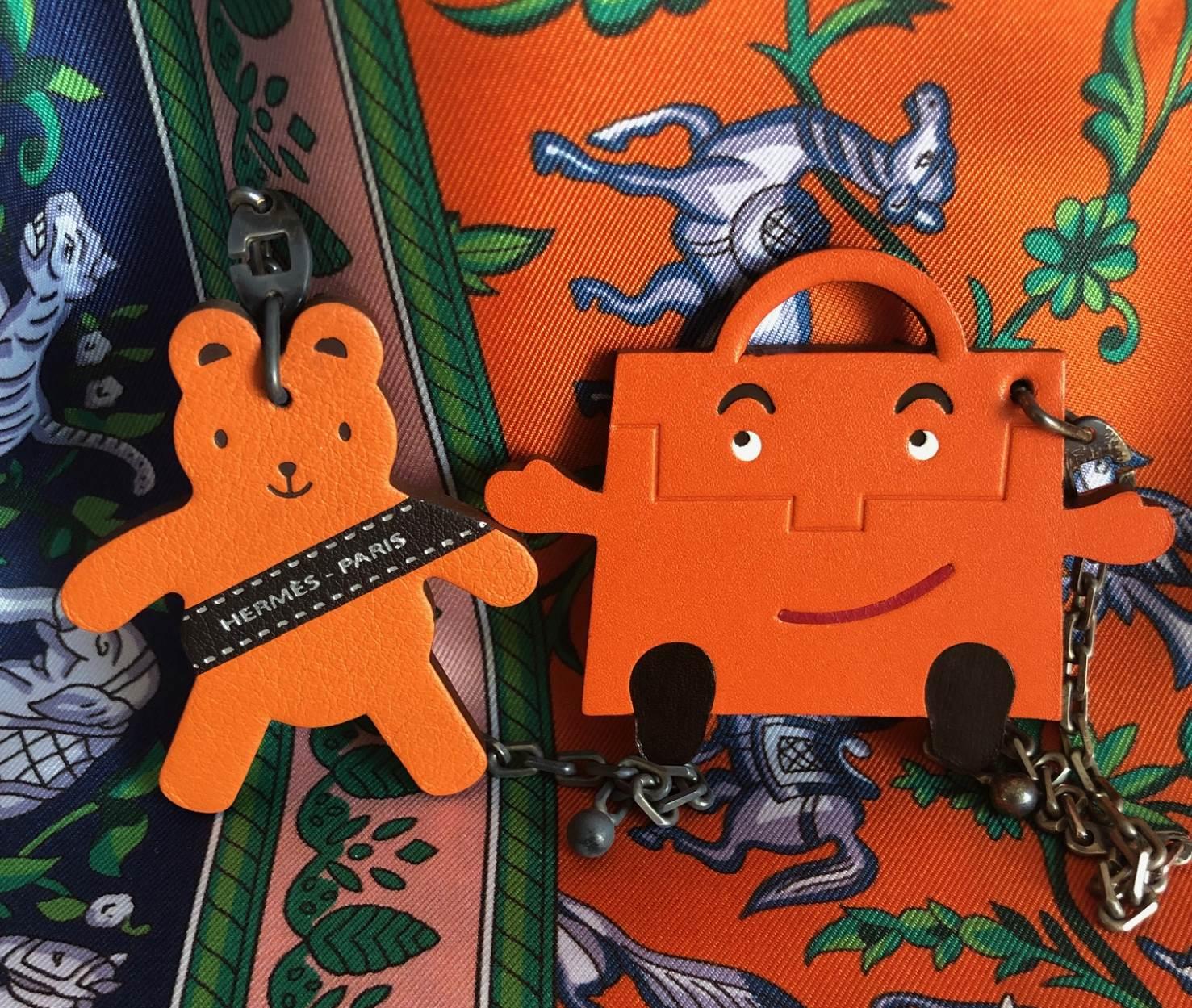 hermes key chaine bag charmes