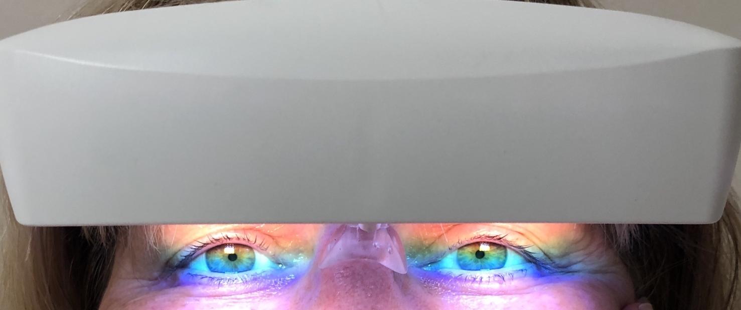 Lichtthearapie Brille