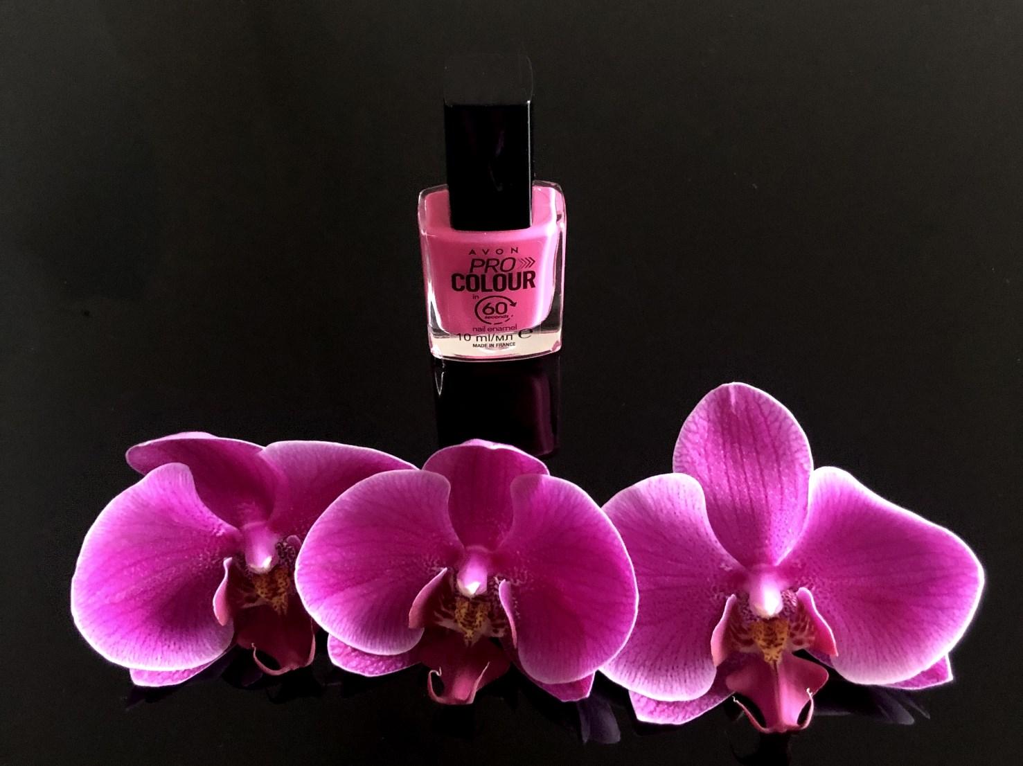 avon schnelltrocknender nagellack pink