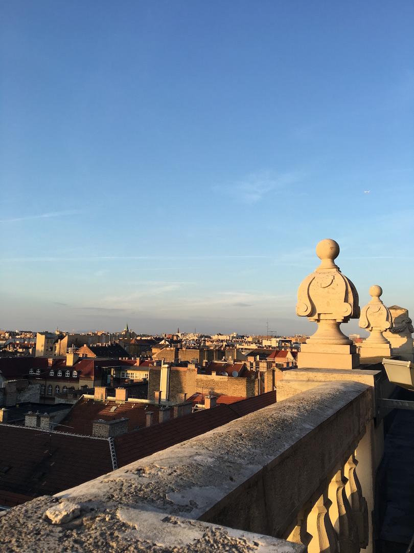 Blick ueber Budapest