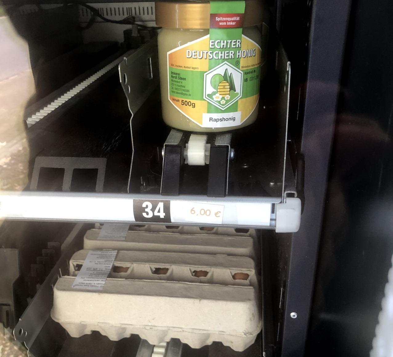 regiomat, automat für hühnereier und mehr