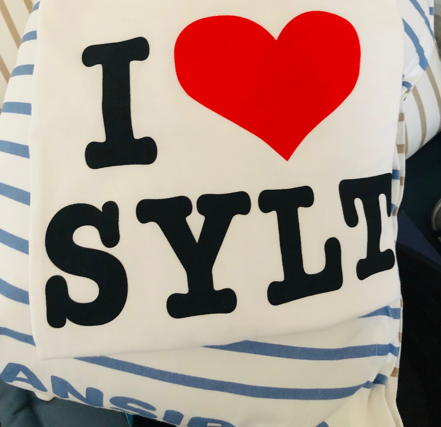 i love sylt t-shirt