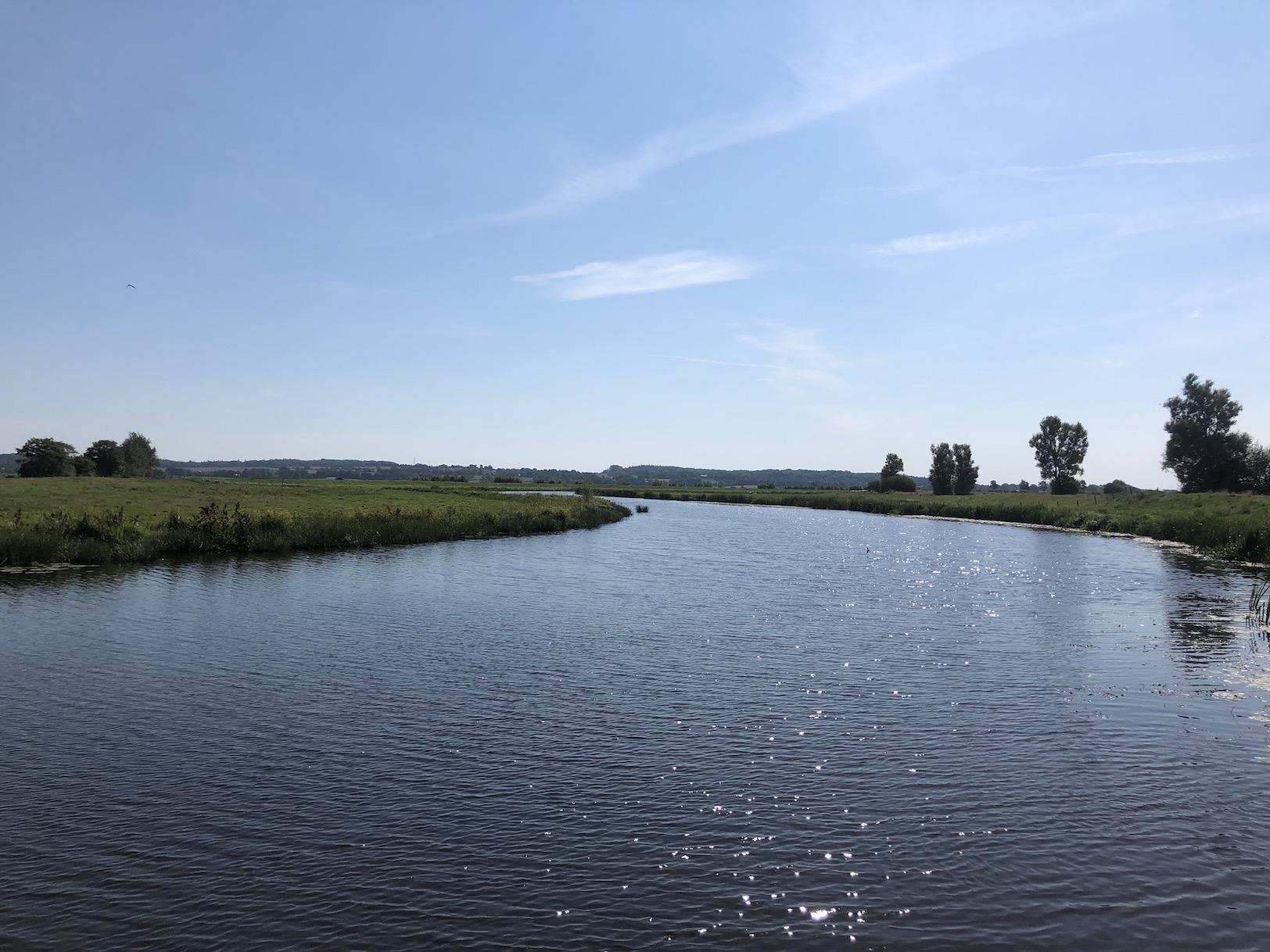 nordfriesland, treene, sommer