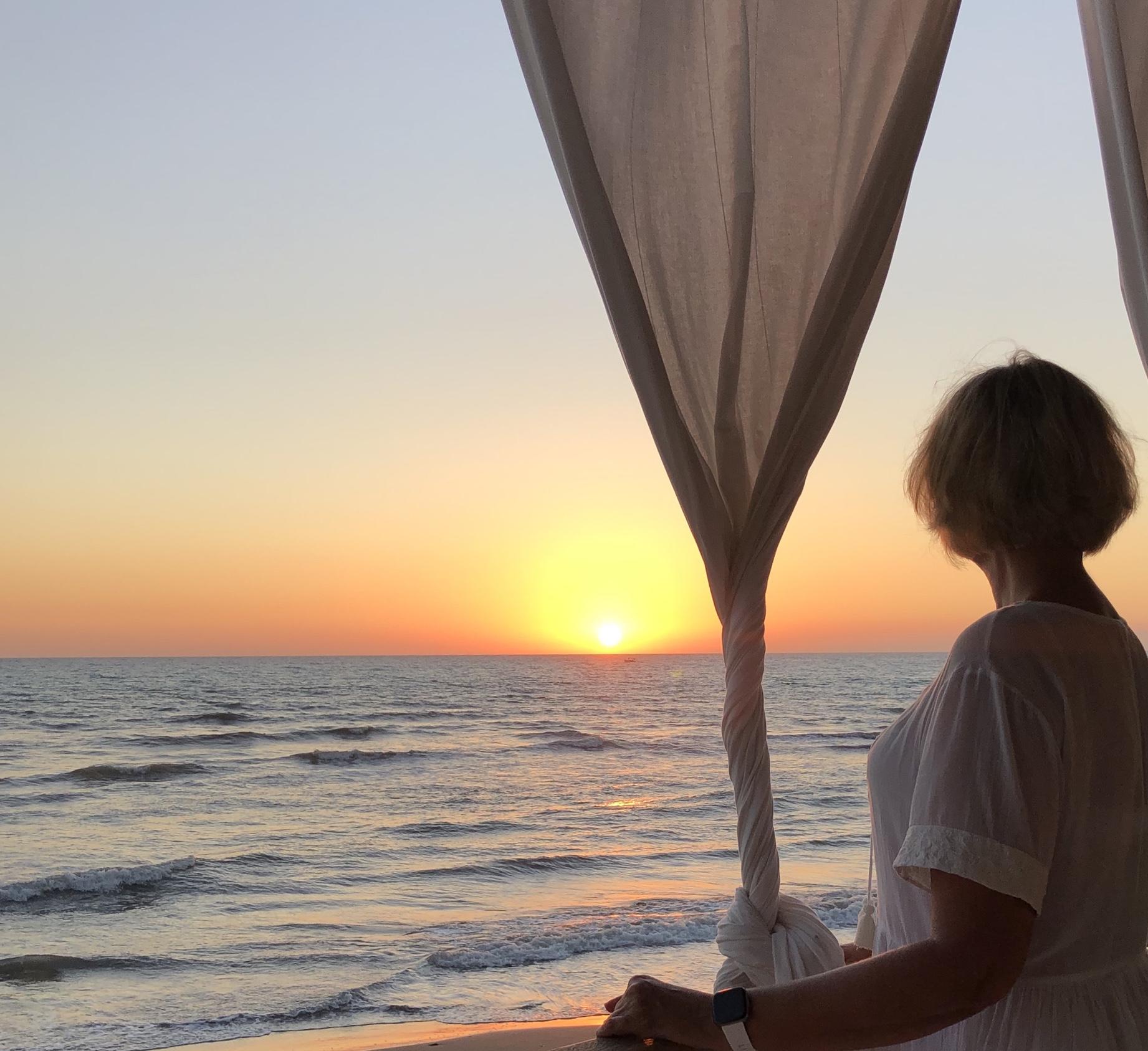 Sonnenuntergang Italien Mittelmeer Toskana san vicenzo Sommer 2020