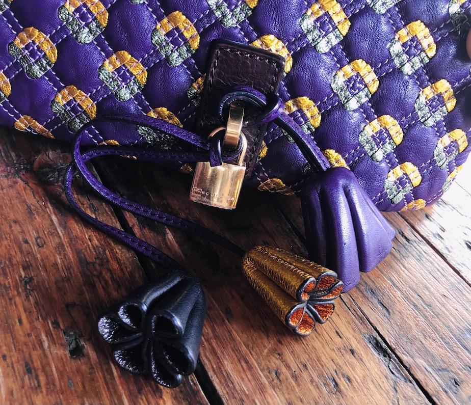 marc jacobs bag orange violett