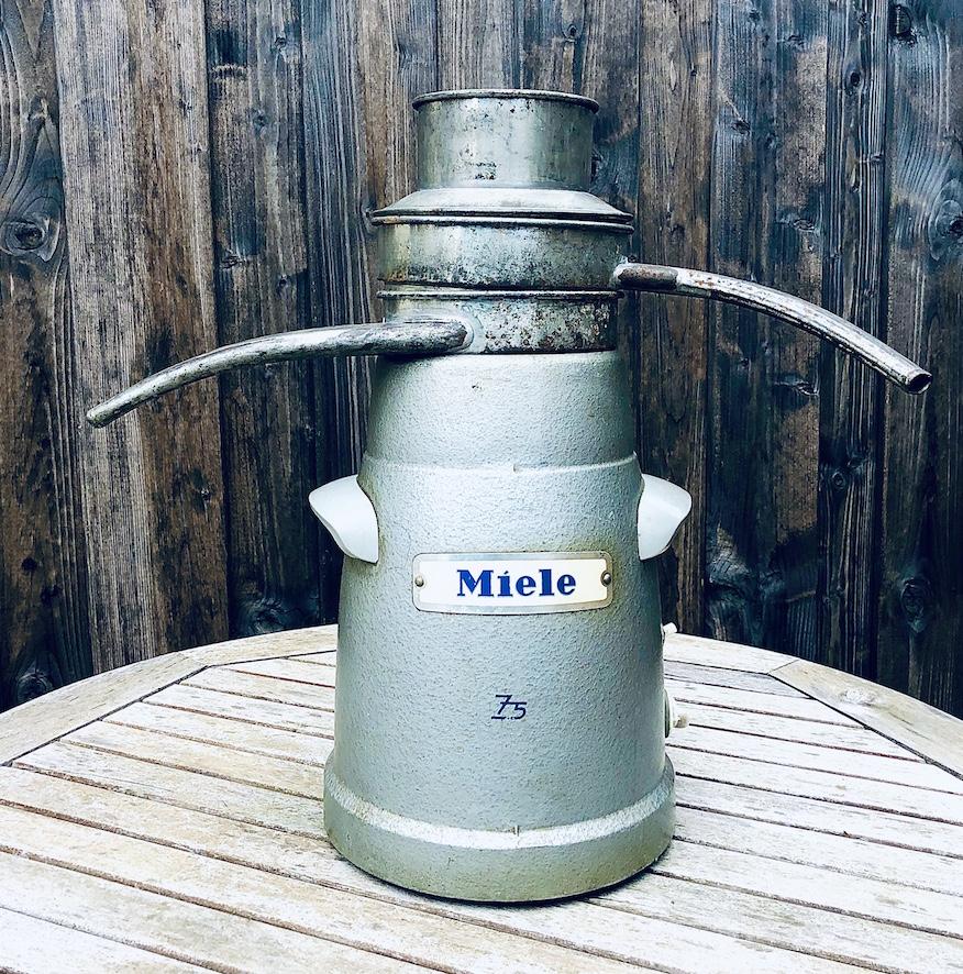 miele, separator, zentrifuge, elektrische Zentrifuge, milchzentrifuge