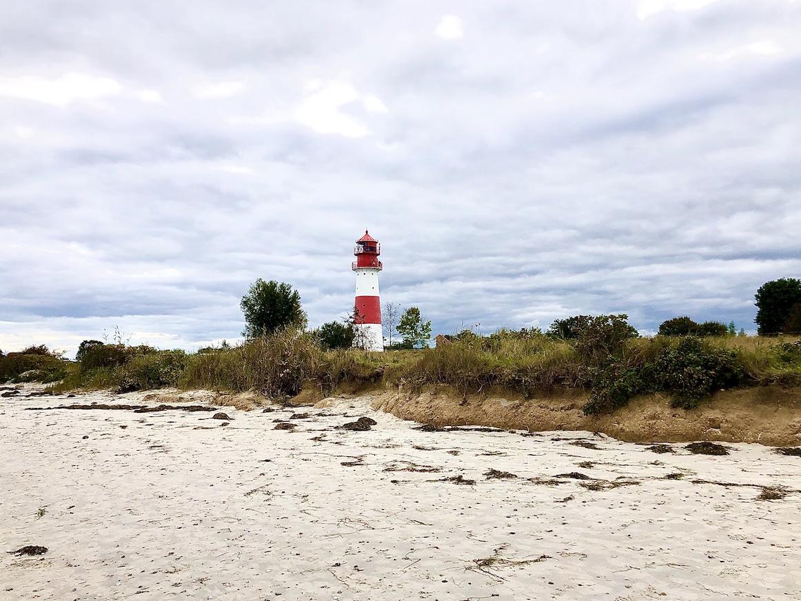 Schleswig-Holstein, Ostsee, Leuchtturm, Leuchtfeuer, Falshoeft, Salzwasser