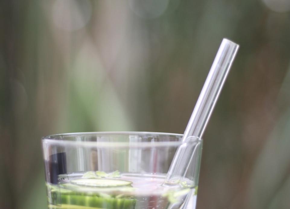 Nachhaltigkeit Glastrinkhalme