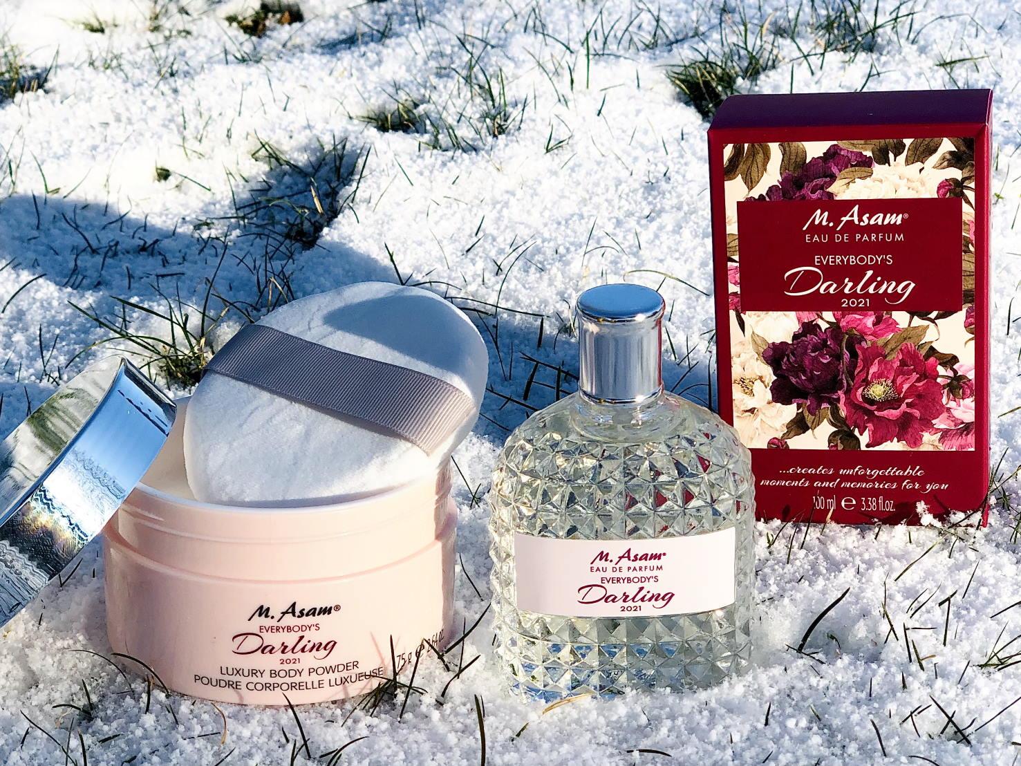 m.asam jahresduft 2021 everybody's darling parfum EdP und Körperpuder