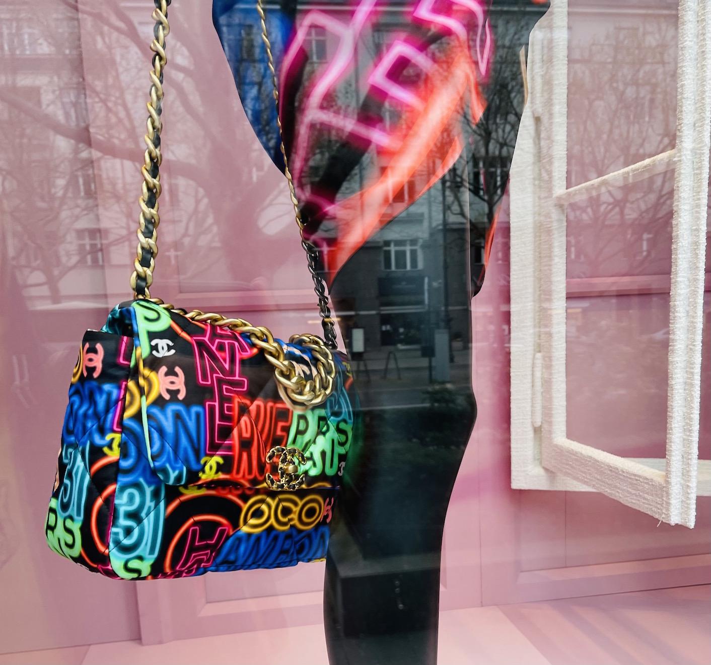 Berlin kurfüstendamm Schaufenster der nobelboutique Chanel
