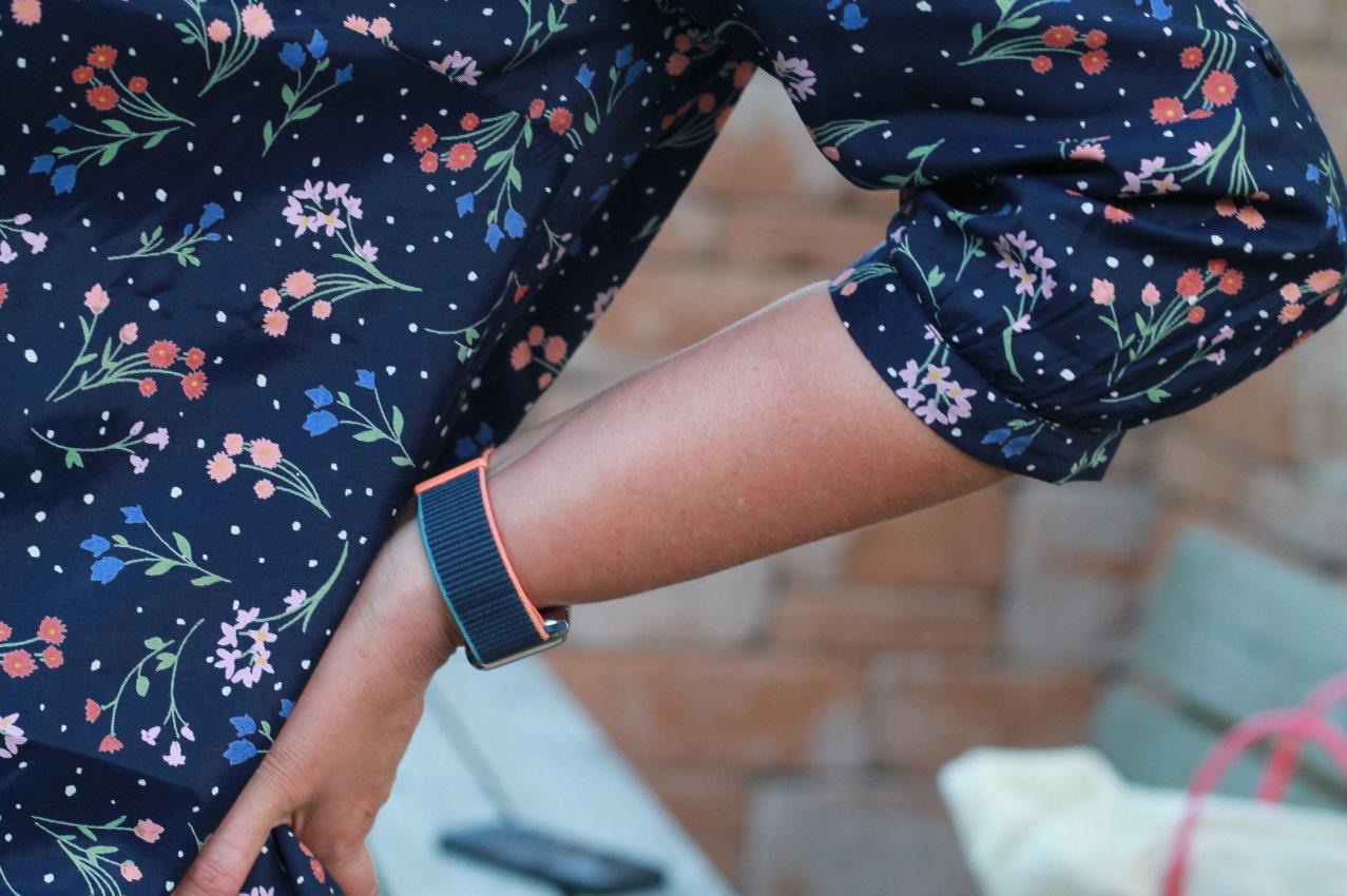 bluse mit floralen prints
